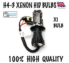 1X H4-3 BI XENON HID KIT BULBS H4 HI/LOW BEAM REPLACEMENT BULB 35W 6000K