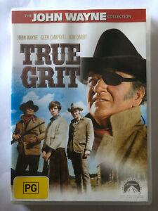 TRUE GRIT, JOHN WAYNE, GLEN CAMPBELL, KIM DARBY  DVD