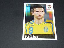 N°401 ANDERS SVENSSON SUEDE SVERIGE PANINI FOOTBALL UEFA EURO 2008