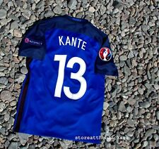 FRANCE NATIONAL TEAM 2016 2017 #13 KANTE FOOTBALL SOCCER SHIRT JERSEY MAILLOT M