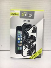 NIB!! Ifrogz IPhone 5 Case Black & White Floral Design