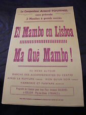 Partition El Mambo in Lisboa Ma qué Mambo Armand Tournel