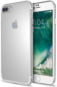 Maxboost iPhone 8 PLUS iPhone 7 PLUS Clear Case [Liquid Skin] Thin TPU Cover