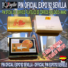 PIN SELLO OFICIAL FILATÉLICO DE CORREOS EXPO´92 SEVILLA OFFICIAL PIN STAMP MAIL