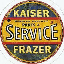 KAISER FRAZER AUTOMOBILE   Sticker Decal