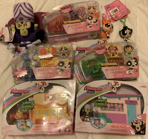 New LOT The Powerpuff Girls Heist Playsets Spin Master