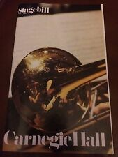 RARE Ana Maria Trenchi de Bottazzi Program 1985 Carnegie Hall Classical Pianist