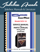 New! Seeburg Model Scd-1A Service Manual, Parts List, Installation & Operation