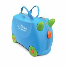 Trunki Original Kids Ride-On Suitcase and Carry-On Luggage - Terrance (Blue)