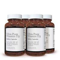 Vitamina D3 Ultra Pura 5000IU x 720 Cápsulas Blandas Vegetales de Fácil Absorció