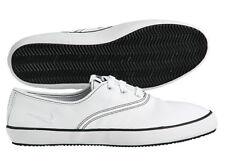 NIKE DEUCE LEATHER Leder Flash Capri Gr:38,5 Sommer sneaker white weiß flyclave
