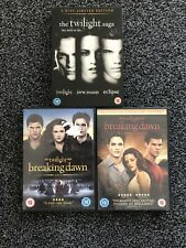 The Twilight Saga 1-5 Complete DVD Collection - First 3 Are In Steel Book