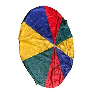 Play Parachute For Kids. 11' diameter  12 Handles.  Pre- Owned