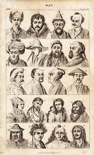 Antique Print Engraving 1859 Oliver Goldsmith - Ethnic Culture of Man 1 of 4