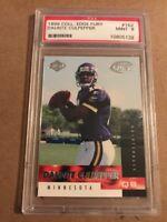 1999 Collector's Edge Fury Football Card #162 Daunte Culpepper NFL  Rookie PSA 9