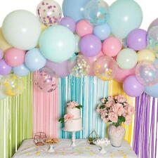 Pastel Balloon Garland Kit - Macaron Balloon Arch Kit - Small and Large Balloons