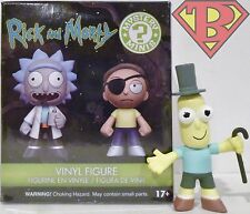 """MR. POOPY BUTTHOLE Rick and Morty Mystery Minis 3"""" Vinyl Figure 1/6 Target 2017"""