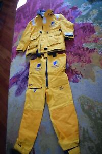AUTHENTIC BT Global Challenge  PROFESSIONAL YACH GEAR JACKET AND PANTS GORTEX