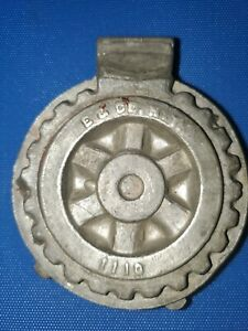 Rotary Wheel (Mark Of Excellence) Pewter Ice Cream Mold #1110 E & Co NY