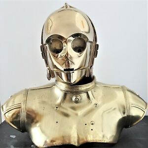 STAR WARS SIDESHOW C-3PO LIFE-SIZE BUST STATUE FIGURE ROBOT DROID DEFECTED