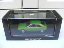 Volkswagen VW Scirocco 197 green Minichamps 430050420 MIB 1:43 n golf BEAUTIFUL