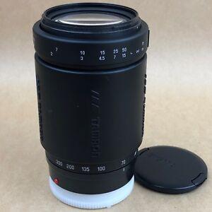 Tamron AF 70-300mm f/4.0-5.6 LD AF Model 372D Tele-Macro1:3.8 Lens For Minolta