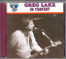 GREG LAKE  -  KING BISCUIT FLOWER HOUR LIVE CD NO SCRATCHES GARY MOORE