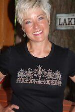 AB  rhinestone crown bling shirt XS S M L XL 2X 3X 4X 5X  AB rhinestones Pageant