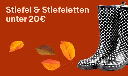 Stiefel & Stiefeletten unter 20€