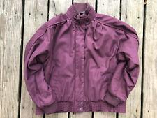 Vintage David Benjamin Womens Winter Jacket Purple Medium Puffer Inside Medium