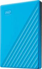 """Western Digital My Passport 2TB, External, 5400 RPM, 2.5"""" (WDBYVG0020BBL-WESN) Hard Drive - Blue"""