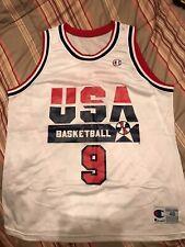 Vintage 1990's Michael Jordan Champion USA Basketball Olympic Dream Team Jersey