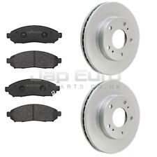 For NISSAN SERENA C26 2.0i MR20DD 05-09 FRONT AXLE BRAKE DISC & PAD