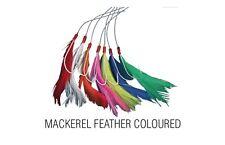 Shakespeare 7 Hook Mackerel Feather Rig - Coloured