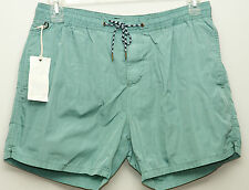 NWT SCOTCH & SODA AMSTERDAM COUTURE MENS GREEN SWIM SHORTS SZ L $69