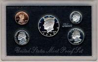 1992 US Mint SILVER Proof Set Gem Coins w/ Box & COA