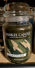 Yankee Candle - Camouflage - 22 oz - Collector's Edition Man Candle! - Rare!