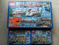 Lego City High-Speed Passenger Train 60051 & Tracks 7895 & 7499 Parcelforce 48
