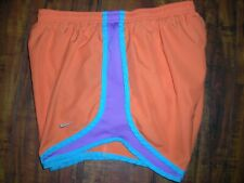 Nike Dri-Fit Athletic Running Shorts Orange/Purple/Blue Women's Size Small