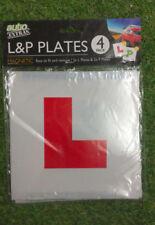 Magnetic L Plates & P Plates (2 each)