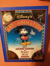 Disney's Art Of Animation From Mickey Mouse To Beauty and the Beast, Hardcover