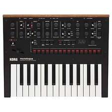 Korg Monologue Analogue Synthesizer | Black