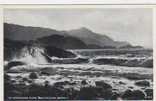 VINTAGE POSTCARD THE APPROACHING STORM LOCH-NAN-UAMH ARISAIG SCOTLAND UNPOSTED.