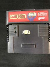 Game Genie Super Nintendo SNES Cartridge PAL VGC