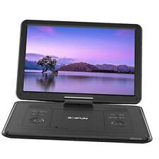 """New listing 17.5"""" Portable Dvd Player with 15.6"""" Large Hd Screen, 6 Hours Rechargeable Batte"""