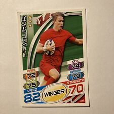 Topps Rugby Attax Card 2015 #157 Liam Williams Wales Winger