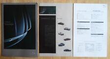 JAGUAR X TYPE 3.0 SOVRANO ORIG 2003 giapponese Mkt opuscolo di grandi dimensioni + listino prezzi