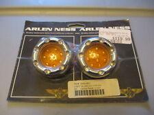 NOS Arlen Ness Harley Led Lens Light fits Deuce Style Turn Signal Housing 12-757