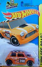 2015 Hot Wheels | Morris Mini (Orange)