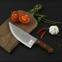 8 inch Professional Stainless Steel Forged Chinese Knife Meat Cleaver Butcher...